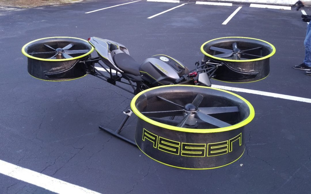 A Different Type of Personal eVTOL, Assen Aero is Bringing a Ducted Fan prototype at Airventure 2018